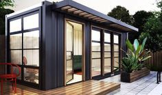 This Austin Company is Refurbishing Shipping Containers into Quaint Additions