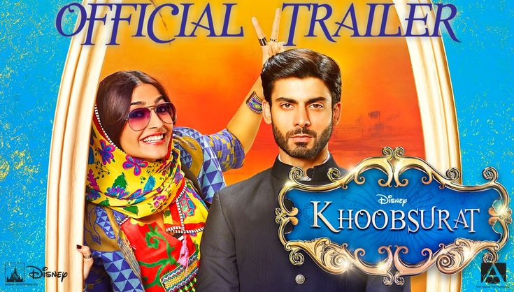 Khoobsurat Official Trailer   Sonam Kapoor, Fawad Khan   Releasing - 19 ...