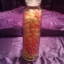 Tall Candy Jar for Long Candy