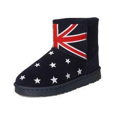 Yeni Kar Botları Kış Sonbahar Kadın Siyah Düz Ayak Bileği Için kadınlar Su Geçirmez Bot Ayakkabı Kadın Botları Sıcak Keçe Womens 2016 lüks(China (Mainland))