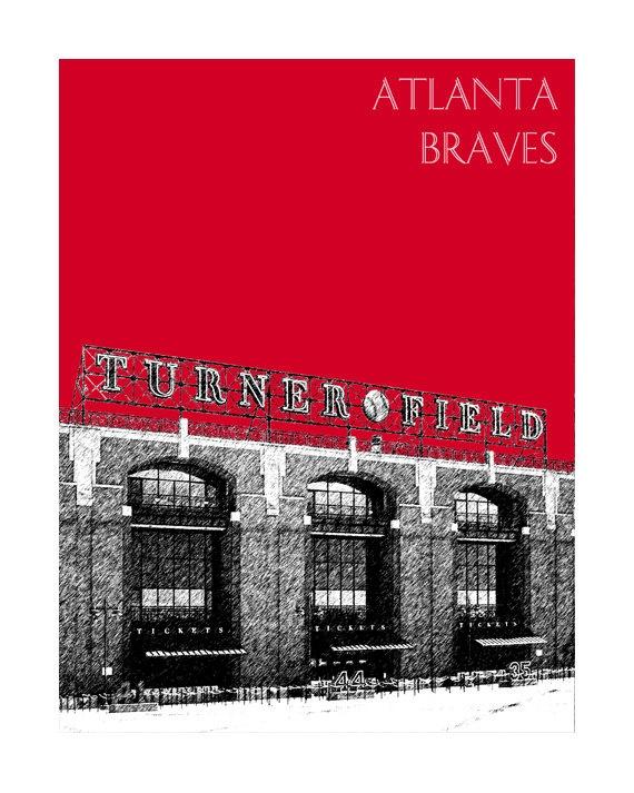 Atlanta Braves Bedroom Decor: 25+ Best Ideas About Turner Field On Pinterest