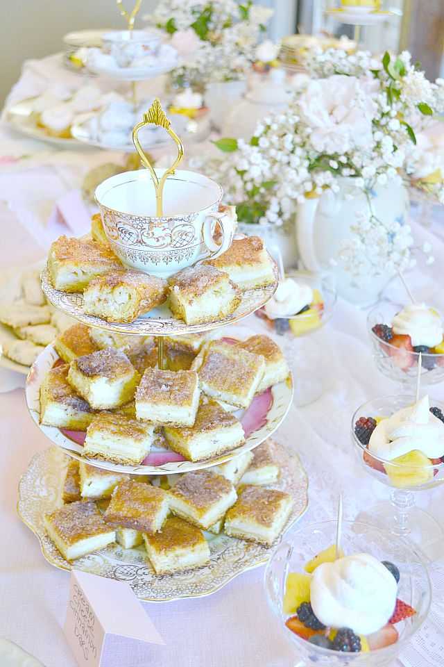 bridal shower teparty decorations%0A Rustic Chic Tea Party Themed Baby Shower via Fawn Over Baby Blog   babyshower  teapartyshower