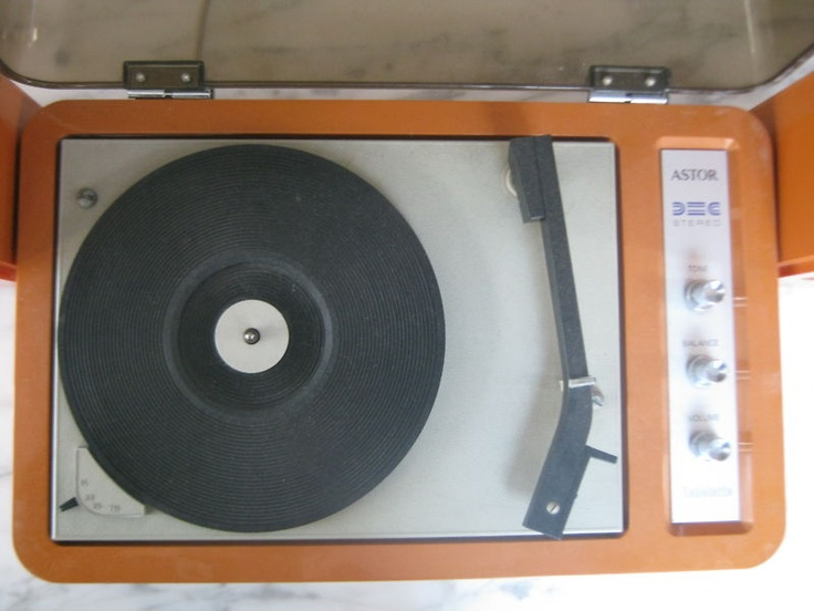 groovy vintage record player for sale.