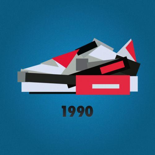 Nike AM 90 minimal sneaker by jack stocker #sneakers
