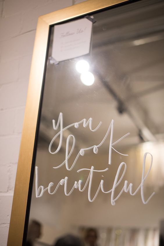 Everyone should write this message on their mirror. We are all beautiful. Don't forget it!  www.susanandwilliam.com
