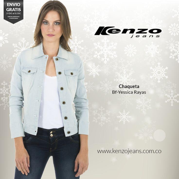 Versátil, chic y muy trendy, te proponemos un #look ideal para lucir fresca y con todo el estilo. #KenzoJeans compra ahora en ow.ly/Whtq4