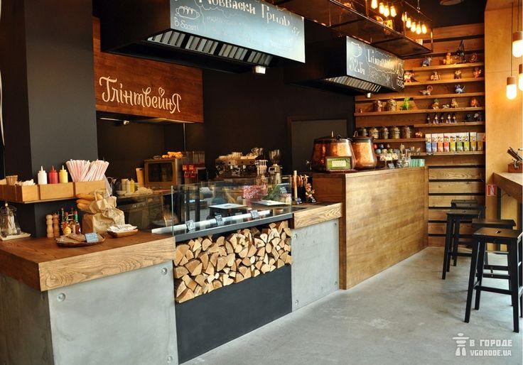 интерьер кафе глинтвейня на Бессарабке