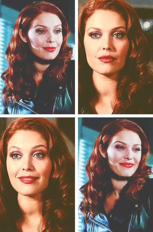 "[Gifs] the amazing beautiful as Alaina Huffman as Abaddon 9X10 ""road trip"" #Supernatural"