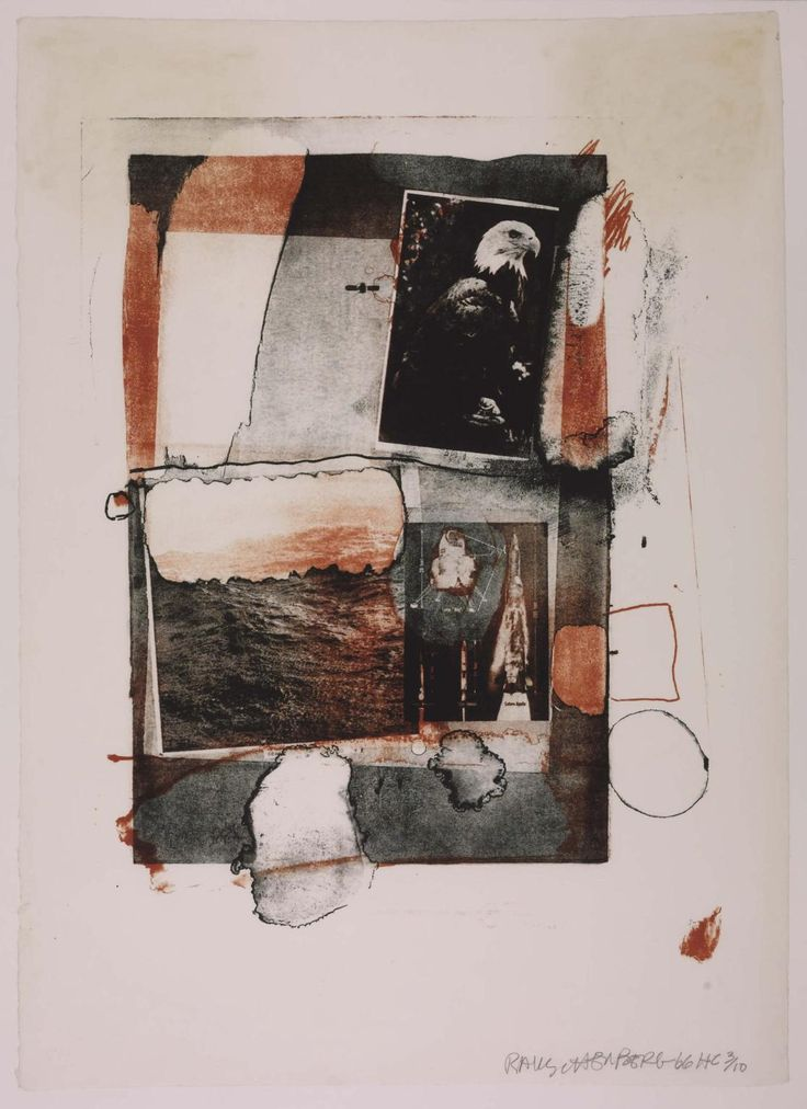'Night Grip', Robert Rauschenberg | Tate