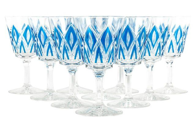 Crystal Glassware, S/18