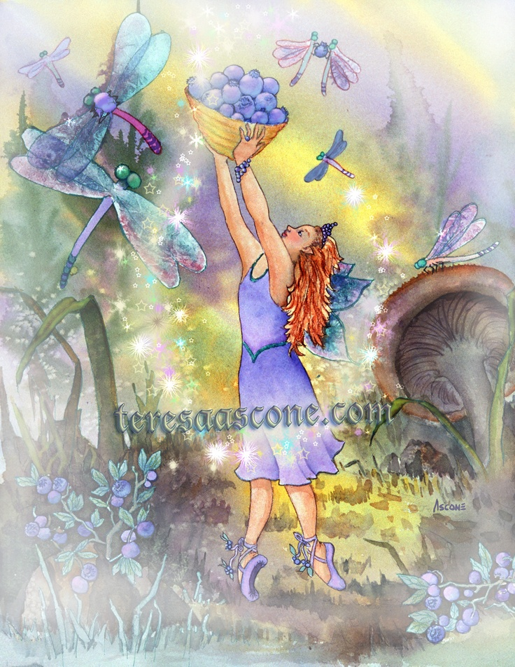 Azuria Blue Twinkle, Blueberry Fairy