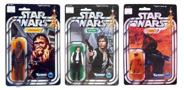 Giocattoli vintage di Star Wars