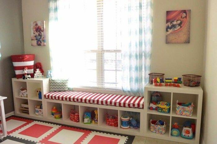 40 Ideen für schöne Kinderzimmer Fensterdeko