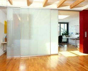 Great schiebew nde raumteiler Imposanter Raumteiler mit Gleitw nden Filigrane Aluminiumrahmen und