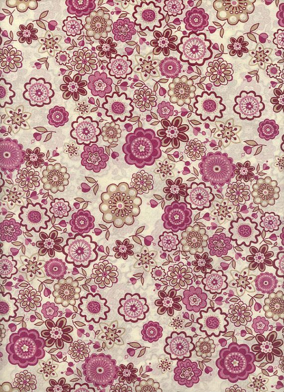 Lauren in Pink Liberty Tana Lawn Fabric 6x27 by MissElany on Etsy, $4.20