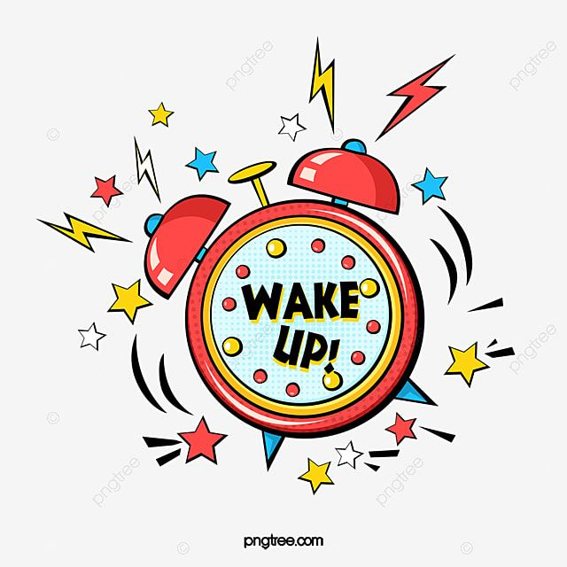 Hand Drawn Pop Style Alarm Clock Wake Up Clock Clipart Alarm Clock Wake Up Png Transparent Clipart Image And Psd File For Free Download How To Draw Hands Clock Clipart Alarm