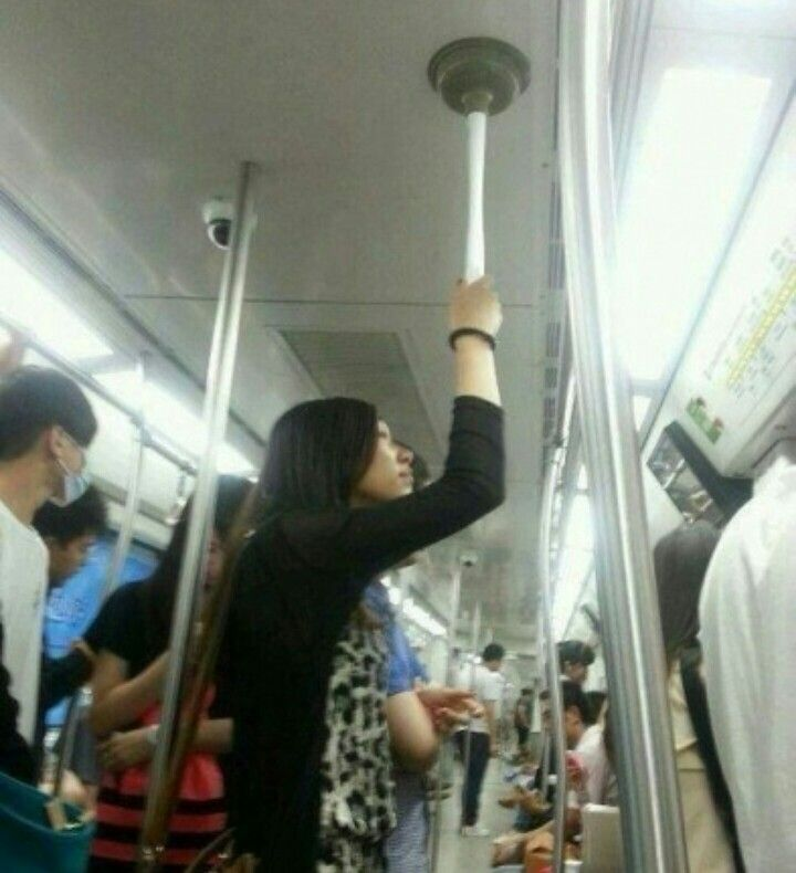 Wednesday Laughs How to use a plunger on the subway. #yeg #edmonton #stalbert #shpk #sprucegrove