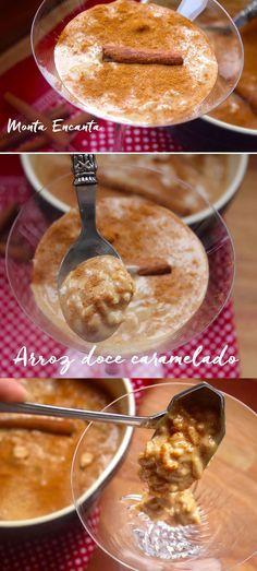 Arroz doce de Caramelo, com brigadeiro de caramelo! O arroz doce se uniu ao Brigadeiro de Caramelo e se pintou para render homenagem a Santo Antonio, São Pedro e São …