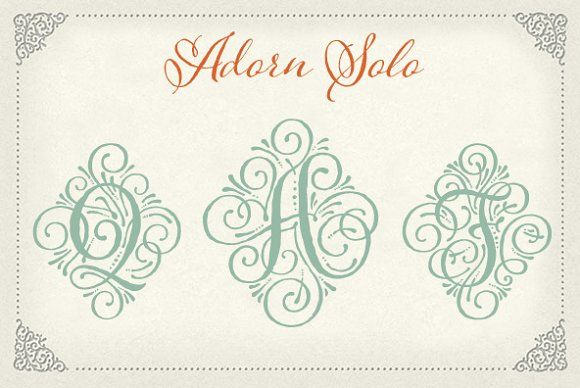 Adorn Solo by Laura Worthington on @creativemarket