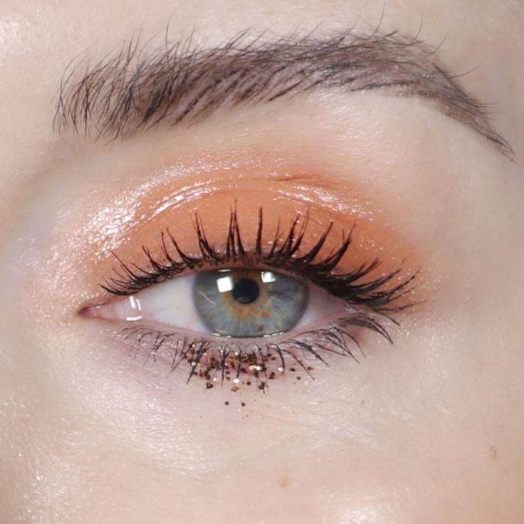 "1,008 Likes, 20 Comments - Katie Jane Hughes (@katiejanehughes) on Instagram: ""Orange Fizz @lorealmakeup orange double ended cream shadows and @lemonhead.la"""