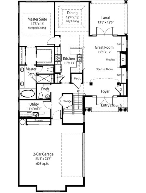 1000 images about cool houseplans on pinterest for European house plans for narrow lots