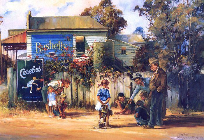 QUALITY CANVAS ART PRINT * DARCY DOYLE * Australian Art #1