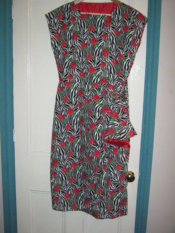 Ladies Retro Sarong Style 1950s Rockabilly by LilRockabillyRebel, $60.00