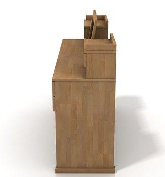 Lagerkvist toaletka z drewna bukowego 7 szuflad