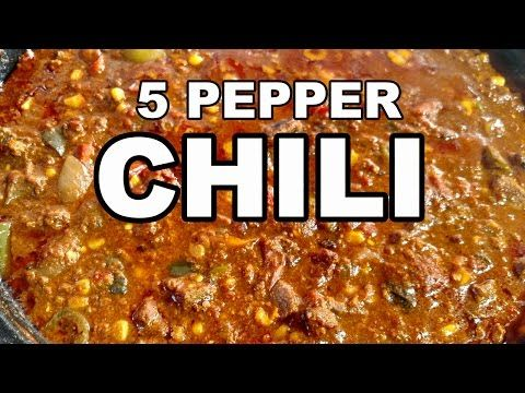 2005 & 2009 National Champion Red Chili Recipe - How to make a Red Chili - YouTube
