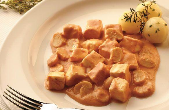 Receita de Estrogonofe de queijo
