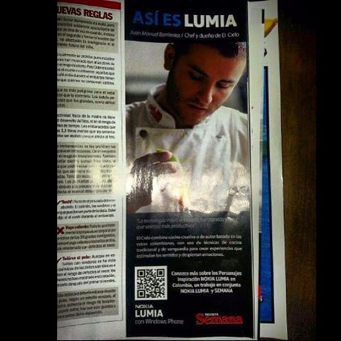 Esta Semana en Semana @Revista Online Semana @Janie Lindquist Juan Manuel Barrientos #elcielomenu