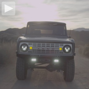 The classic Ford Bronco. Revisited...