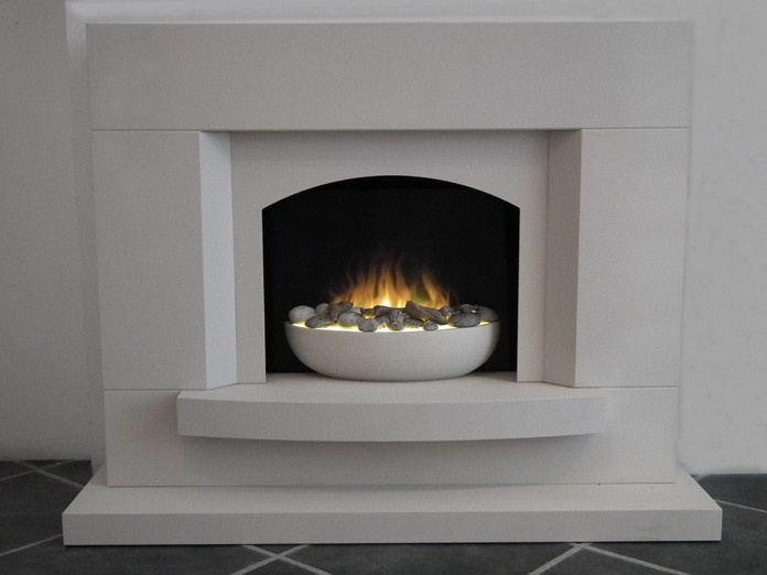 Sorrento Electric Fireplace Suite Electric Fires