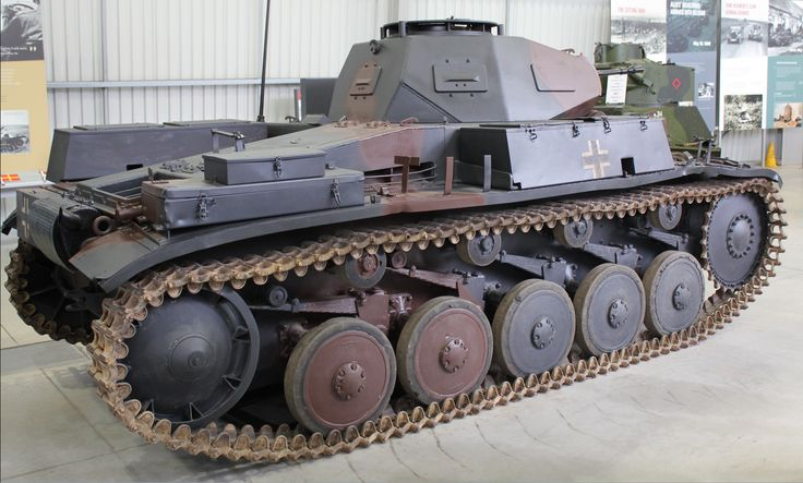 Panzer II. This tank served with 10th Panzer Division in North Africa. It weighed 9.5 tons.