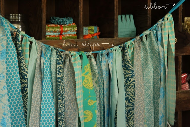 Fabric Strip Banner - Girl. Inspired.