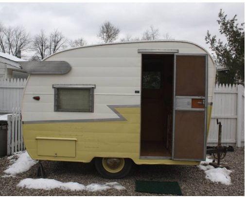 For Sale- 63 Shasta Vintage Camper