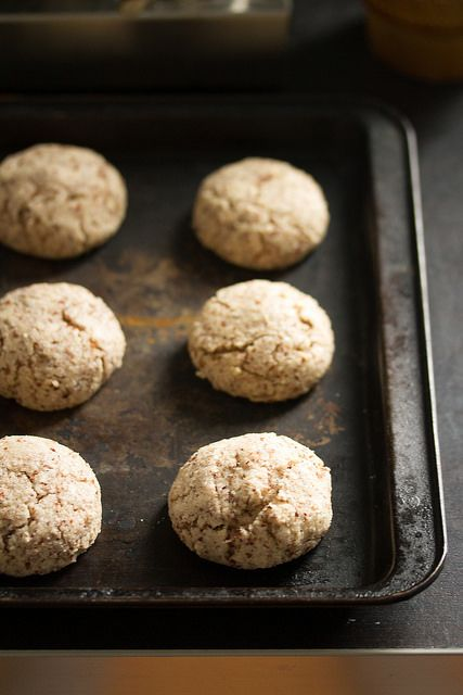Assortment idea: Chewy Amaretti Cookies - Crumb: A Food Blog