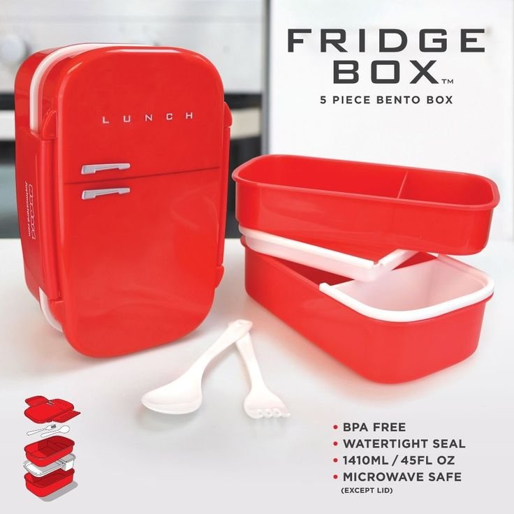Bento Fridge Lunch Box | Lunch Box with Compartments