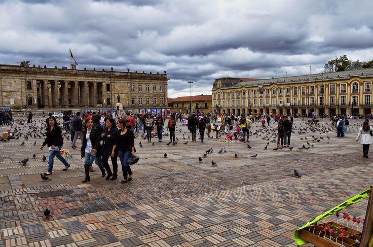 """Fotoviaje: Bogotá, Colombia. Día 1 """"Plaza de Bolívar: centro ..."""