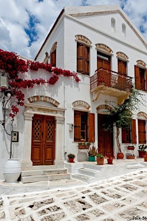 VISIT GREECE| Pyrgos, Tinos Island, Cyclades,