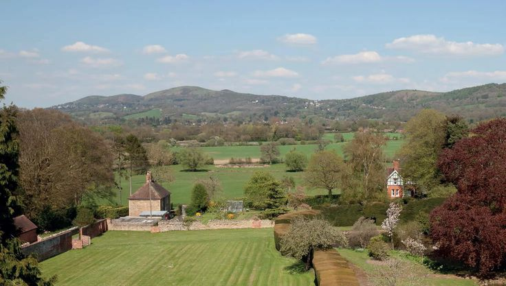 The house is in the heart of some of the most beautiful countryside in England. Situated between Ledbury and Malvern, two interesting towns with very distinctive characteristics and within and easy journey of Hereford, Cheltenham and Gloucester - here is the view from the house to the Malvern Hills