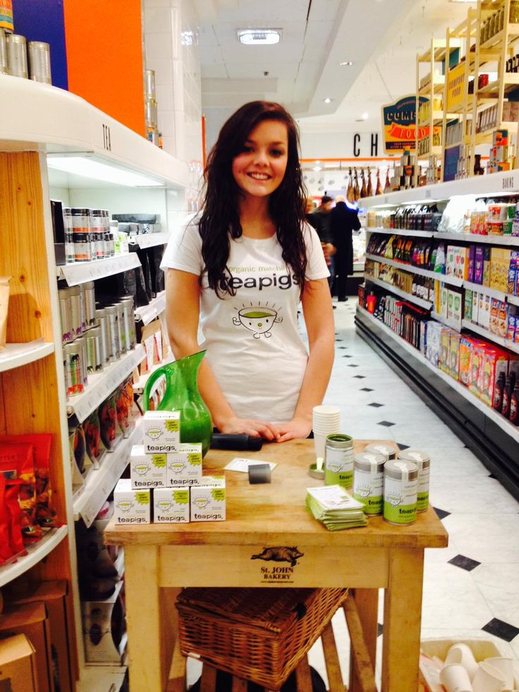 teapig emily is in @Selfridges oxford st RIGHT NOW. try some of our awesome matcha, feel that energy!!