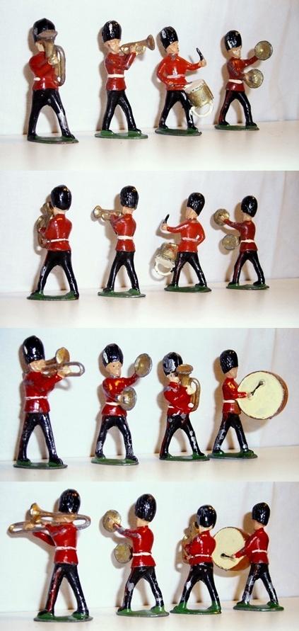 Vintage Lead Soldiers BRGAMUSEMENTS.COM