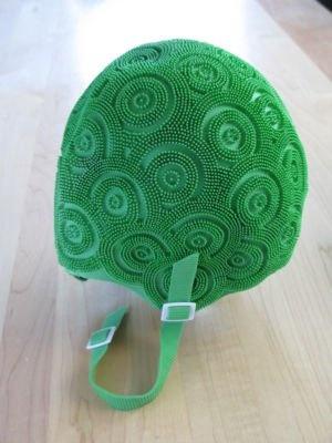 <3 vintage green bathing cap