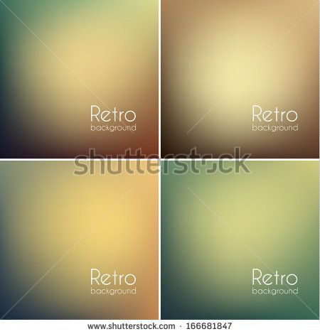 Smooth vintage backgrounds collection - eps10 by ILeysen, via Shutterstock