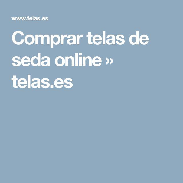 Comprar telas de seda online » telas.es
