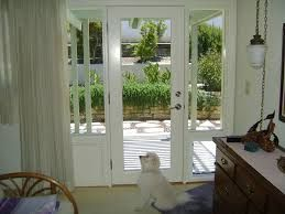 Exterior Door With Window And Dog Door Exterior Door with Built
