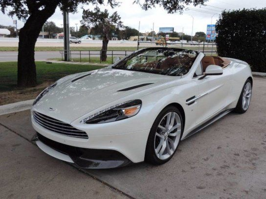 Cars for Sale: New 2017 Aston Martin Vanquish in Volante, Austin TX: 78750 Details - Convertible - Autotrader