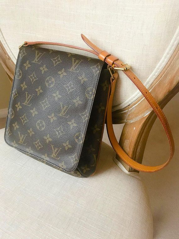 6d4f32895995 Authentic LOUIS VUITTON Monogram Musette Salsa Shoulder Bag