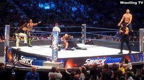 John Cena, Roman Reigns & Dean Ambrose Vs Seth Rollins, Bray Wyatt & Erick Rowan